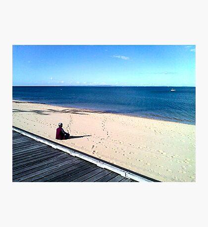 zen (beach)  Photographic Print