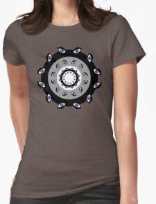 Mandala Homunculus Womens Fitted T-Shirt