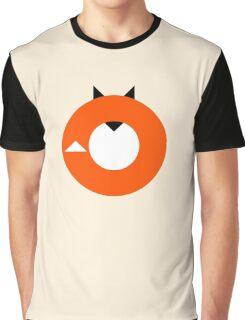 A Most Minimalist Fox Graphic T-Shirt