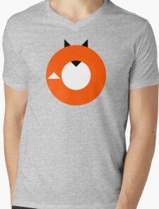A Most Minimalist Fox Mens V-Neck T-Shirt