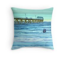 Sunset Watchers Throw Pillow