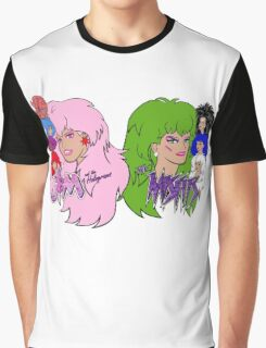 Jem and the Holograms Vs The Misfits Graphic T-Shirt