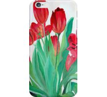 A Bouquet of Red Tulips  iPhone Case/Skin