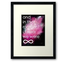 the perks of being a wallflower Framed Print