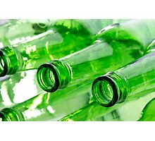 Beer Bottles Photographic Print