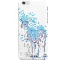 Life is Strange- Watercolor Butterfly Doe  iPhone Case/Skin