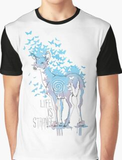 Life is Strange- Watercolor Butterfly Doe  Graphic T-Shirt