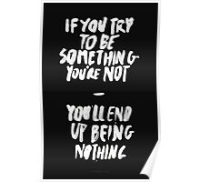 BEING NOTHING Poster