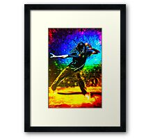 Living Vicariously Through Other People's Dancing Framed Print