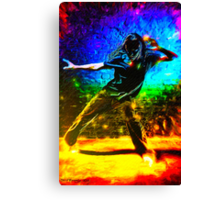 Living Vicariously Through Other People's Dancing Canvas Print