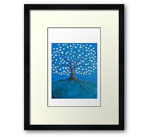 Tree of Life ( heart leaves ) Framed Print
