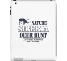 Siberia Deer Hunt iPad Case/Skin