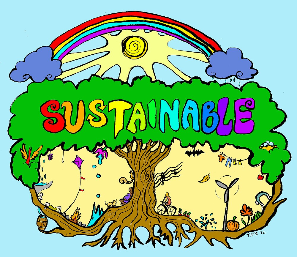 Sustainable by Tatiana  Gill