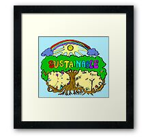 Sustainable Framed Print
