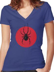 Aranea-Hominem Women's Fitted V-Neck T-Shirt