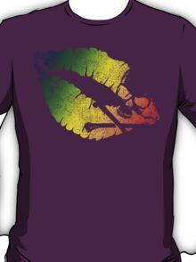 rainbow poison lips T-Shirt