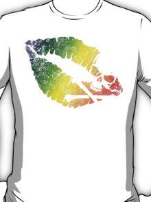 rainbow poison lips T-Shirt