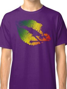 rainbow poison lips Classic T-Shirt
