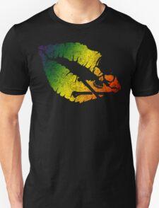 rainbow poison lips Unisex T-Shirt