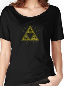 Gold Trinity Shirt - Zelda Women's Relaxed Fit T-Shirt