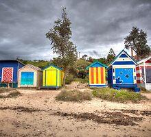 Bathing Boxes by Shari Mattox-Sherriff