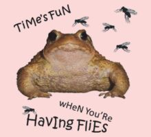 Time's Fun When You're Having Flies Kids Tee