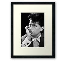 Herman Brood in the eighties Framed Print