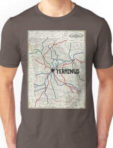 The Walking Dead - Terminus Map Unisex T-Shirt