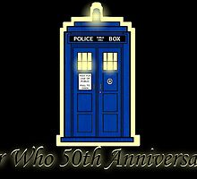 Dr Who 50th Anniversary by erkillers