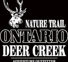 Deer - Ontario Nature Train by Port-Stevens