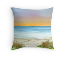 Sunset,West Beach,South Australia Throw Pillow