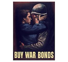 Buy War Bonds -- WW2 Poster Photographic Print