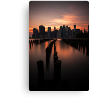 Mooring Eve Canvas Print