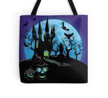 Haunted Halloween Castle 3 Tote Bag