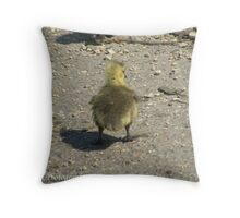 does my bum look big Throw Pillow
