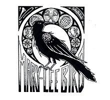 Bird Nouveau Photographic Print