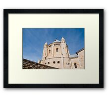 Jerusalem, Hagia Maria Sion Abbey (Dormition Abbey)  Framed Print