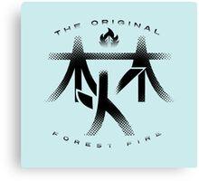 Forest Fire - 'Kanji' Canvas Print
