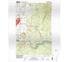 USGS Topo Map Washington State WA Enumclaw 241078 1997 24000 Poster