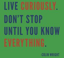 Live Curiously Kids Clothes