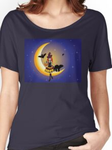 Witch on the Moon 4 Women's Relaxed Fit T-Shirt