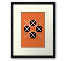 Design 215 Framed Print