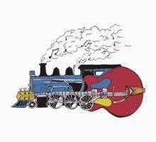 'Train is a Strummin' by Stuarty