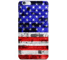 American Flag Vintage 2 iPhone Case/Skin