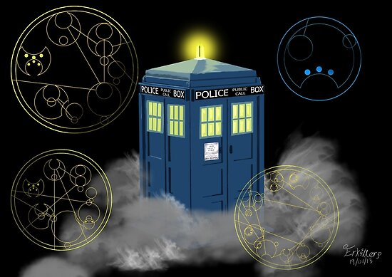 dr who tardis by erkillers