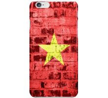 Vietnam Flag Vintage iPhone Case/Skin