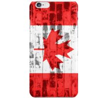 Canada Flag Vintage iPhone Case/Skin