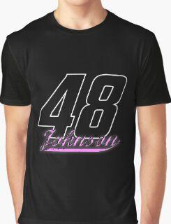 Jimmie Johnson #48 dark backgrounds Graphic T-Shirt