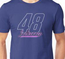 Jimmie Johnson #48 dark backgrounds Unisex T-Shirt
