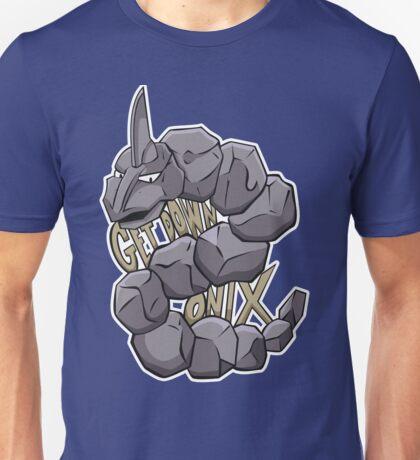 PokéPun - 'Get Down Onix' Unisex T-Shirt